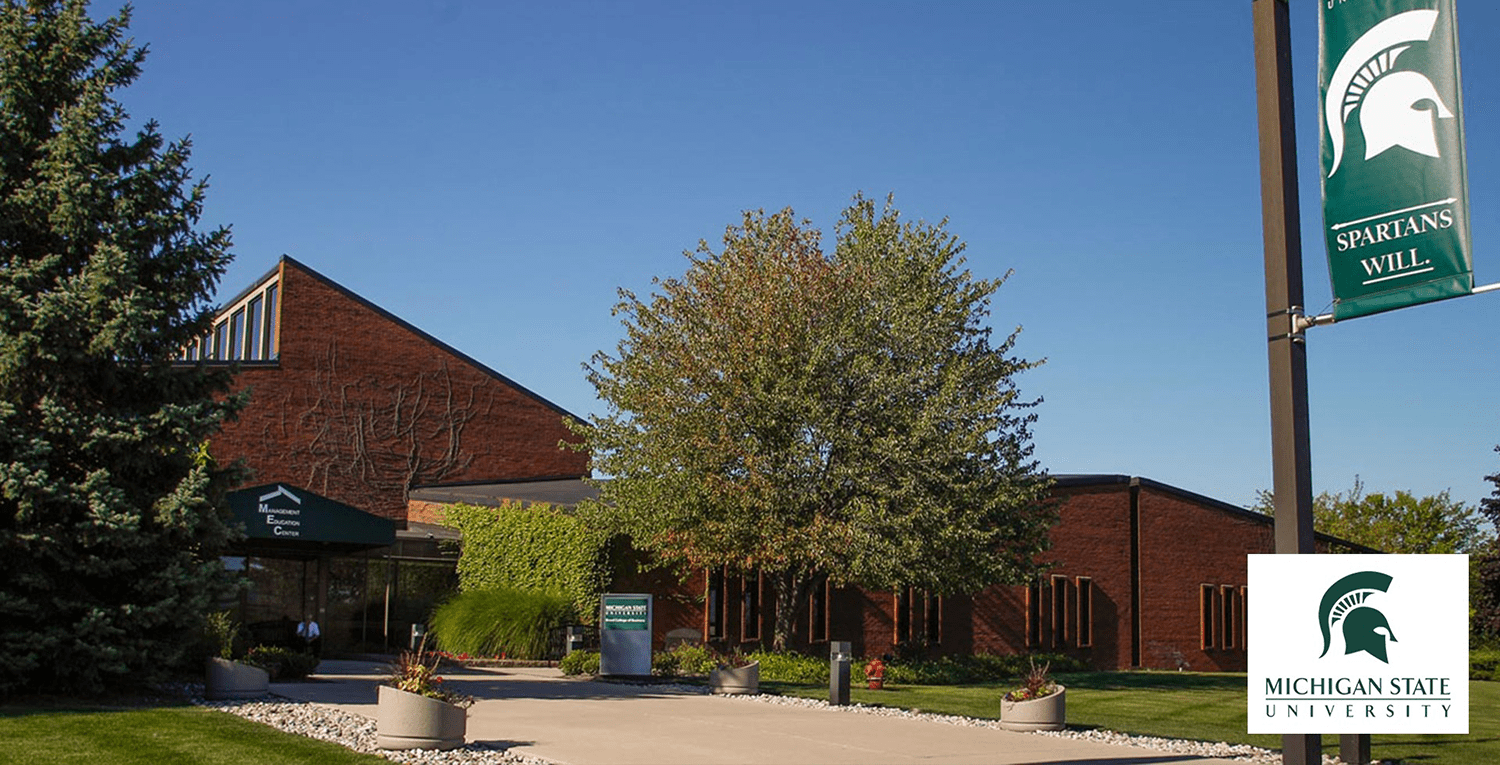 Michigan State University where income planning classes are offered.