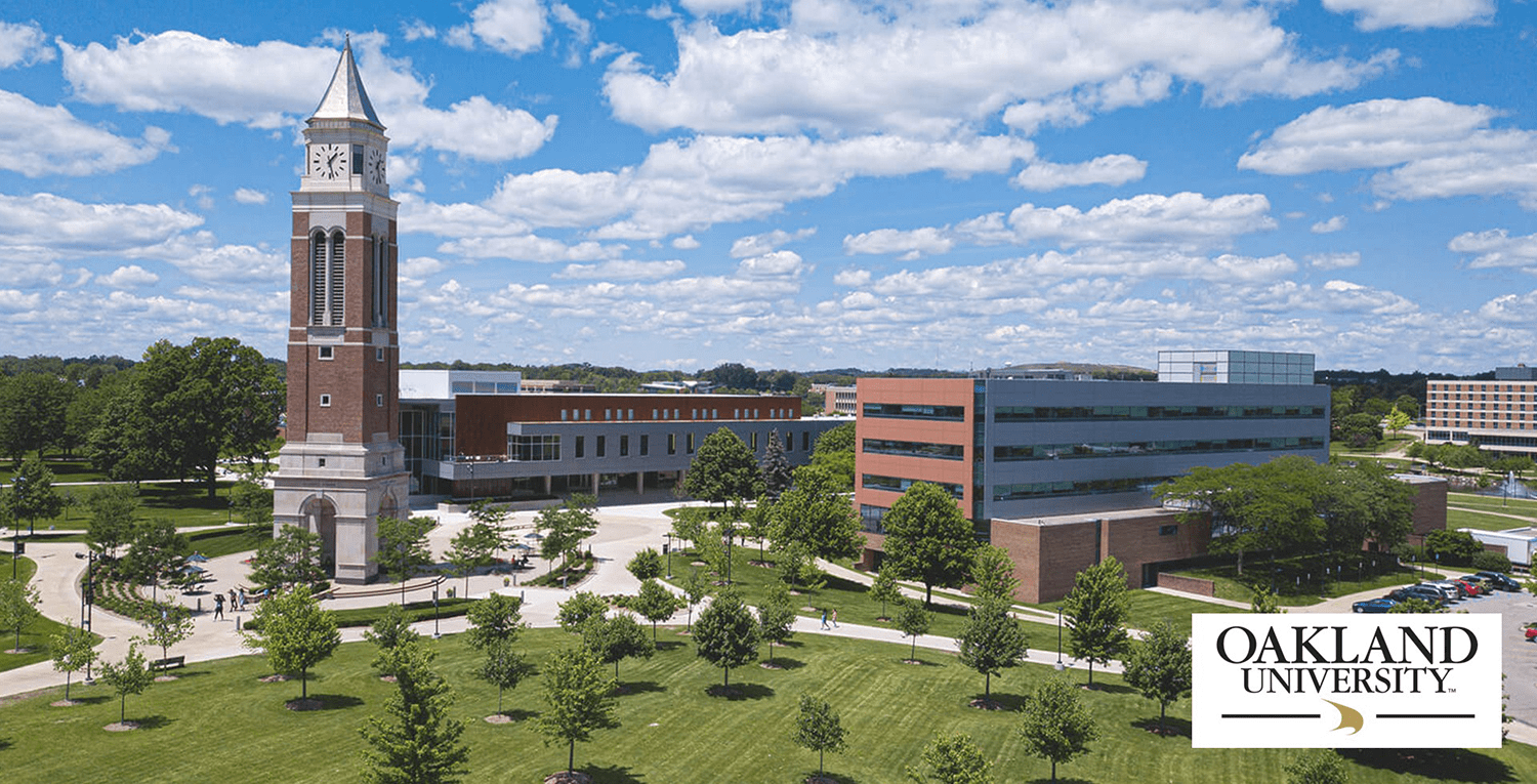 Oakland University where income planning classes are offered.